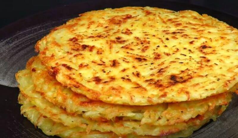 рецепты картофельных лепешек с сыром