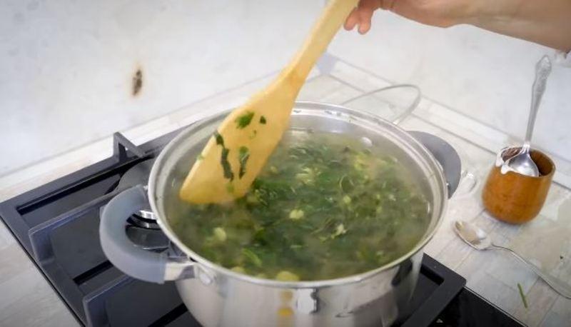 как варить суп из крапивы
