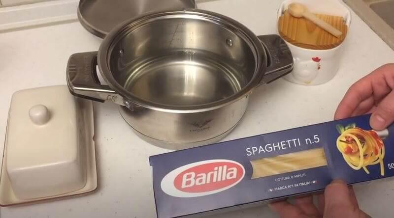 как рассчитать сколько спагетти необходимо сварить