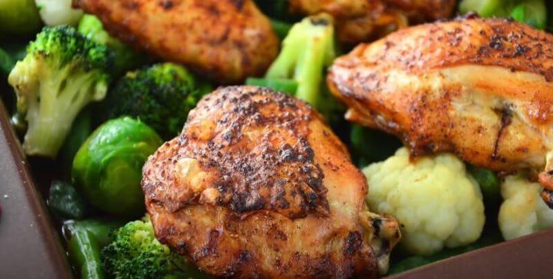 курица в духовке с хрустящей корочкой