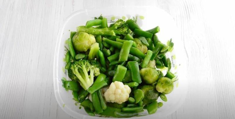 приготовлю любимые замороженные овощи