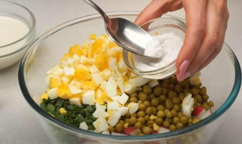 салат солим по вкусу