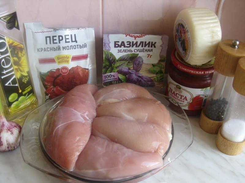 для рецепта берем продукты
