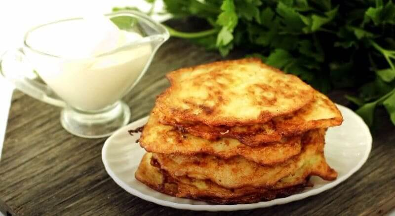 Драники из кабачков и картофеля рецепт на сковороде