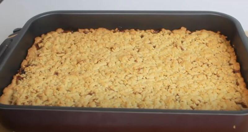 рецепт тертый пирог с вареньем в духовке