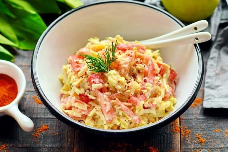 как сделать салат наргиз
