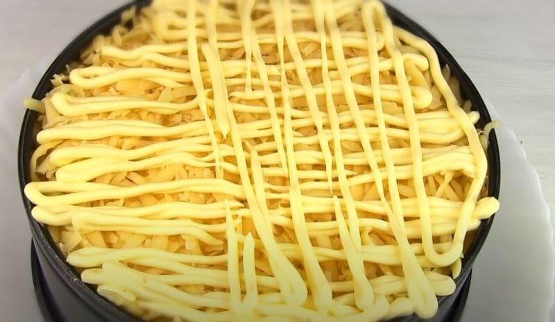 седьмой слой тертый сыр