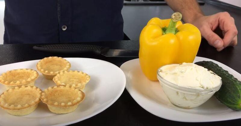 третий вариант закуски