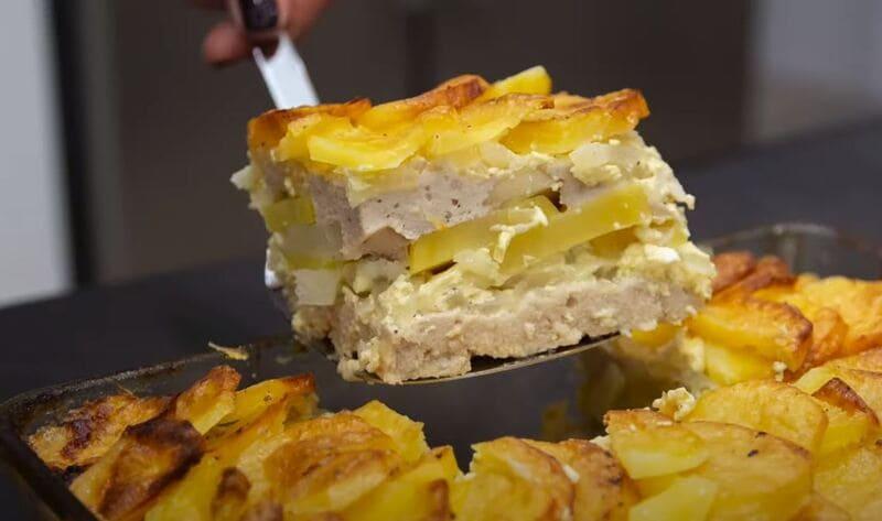 как приготовить запеканку из картофеля с фаршем