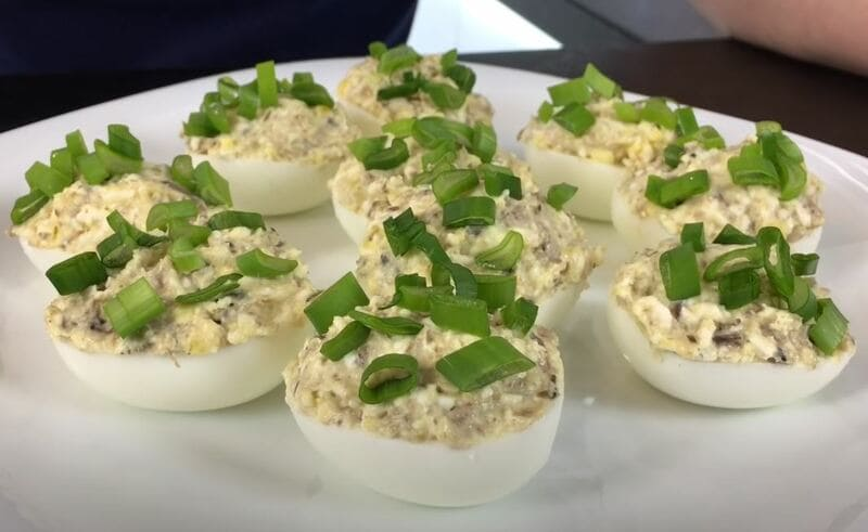простой рецепт фаршированных яиц