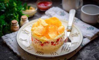 салат сырное облако