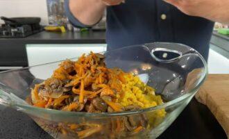 ингредиенты для салата в салатнице