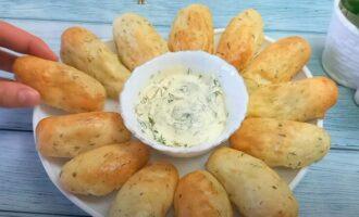 картофельные колбаски с сыром