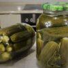 рецепт маринованных огурцов на зиму без стерилизации