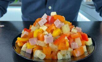 рецепт салата три перца