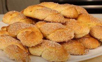 сахарное печенье на кефире